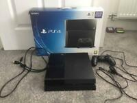 Sony PlayStation 4 500GB with original box, controller and leads **can post**