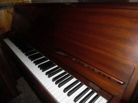 upright piano by monnington and weston