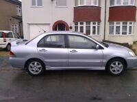 MITSUBISHI LANCER ELEGANCE 2006 (56) MOT JANUARY 2019. 1.6 MANUAL 90K