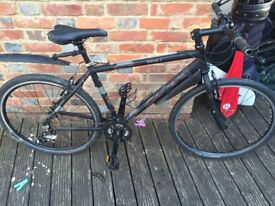 Selling my Carrera mountain bike, new derailler, gears and rear brakes adjusted