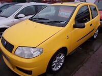 *FIAT PUNTO ACTIVE SPORT 16V*2003*JULY 30TH 17 MOT*BARGAIN TRADE IN TO CLEAR AT ONLY £595*