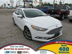 2017 Ford Fusion SE | SUNROOF | BACKUP CAM | LEATHER