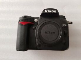 Nikon D D7000 16.2MP Digital SLR Camera - Body Only - Black