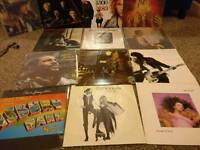 Record collection, Bowie, Fleetwood Mac, Kate Bush, Dylan, Springsteen, Marvin Gaye