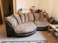 Corner cuddle sofa
