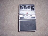 Digitech Digidelay Guitar Effects Pedal