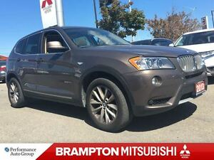 2013 BMW X3 (ONE OWNER! ACCIDENT FREE!)