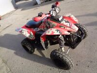 2008 POLARIS TRAILBLAZER 330 QUAD BIKE ROAD LEGAL