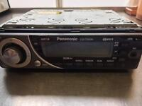 Panasonic head unit , cd, aux, stereo