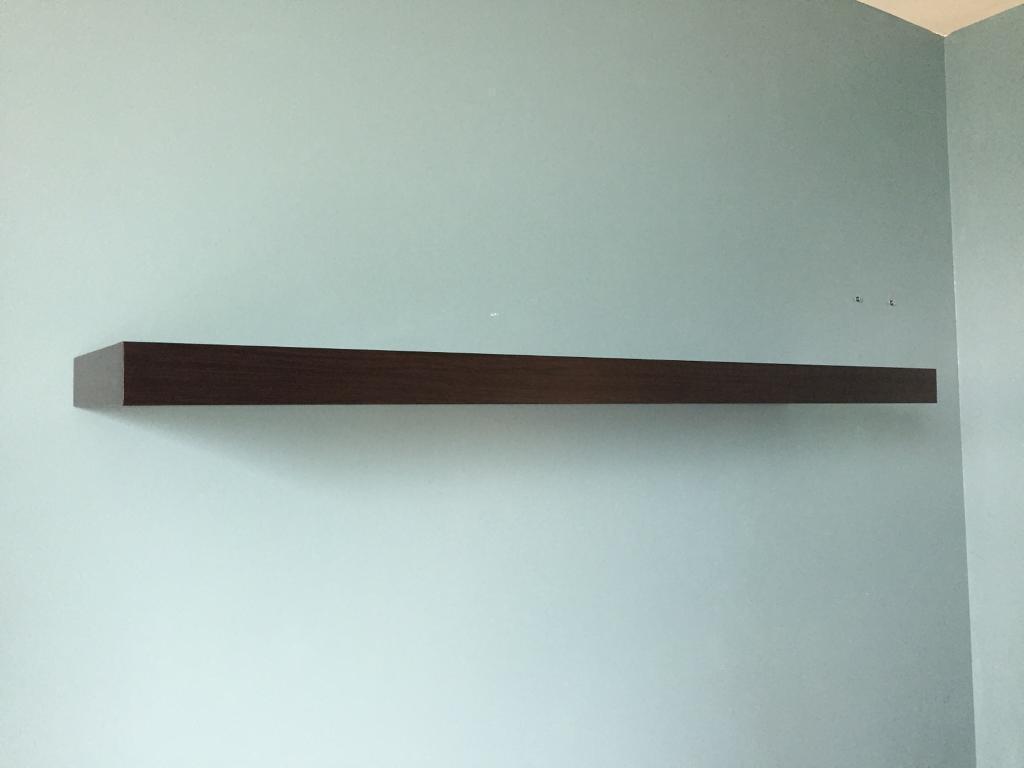 Ikea Hallway Ikea Lack Floating Shelf Black Brown 110cm In London