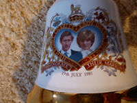 Commemorative Porcelain Decanter to Commemorate the Wedding of Prince Charles & Lady Diana Spencer