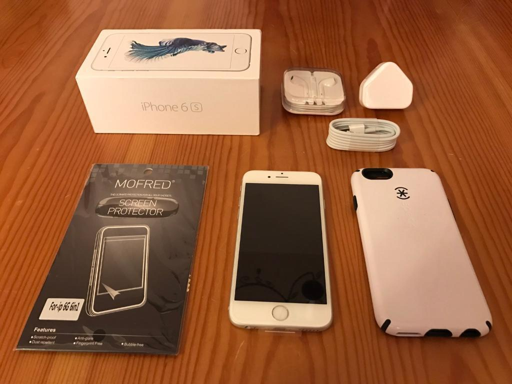 BRAND NEW iPhone 6S Silver 64gb Unlocked To All Networksin East Calder, West LothianGumtree - For sale is a brand new iPhone 6S, Silver, 64GB and unlocked to all networks. Its still in its original wrapping, never turned on, never used. All the accessories, headphones, sync lead and USB plug are also brand new and unused; still in their...