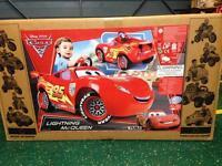 Disney Cars 2 Lightning MCQueen ride on electric car 6v