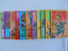 11 Dinosaur Cove Adventure Books by Rex Stone