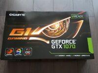 Gigabyte GTX 1070 G1 Gaming OC Edition RGB