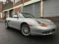 Porsche Boxster 1998 2.5 986 Convertible 2 door HUGE SPEC, LEATHER, BARGAIN