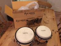 Tycoon Percussion 6-inch / 7-inch Ritmo Bongos - Natural Finish