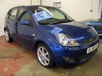 2008 (58) Ford Fiesta 1.25 Zetec Climate Blue Edition 5 door hatchback