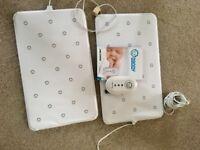 Nanny baby sensor monitor with extra pad