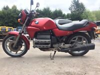 Classic BMW, Cafe racer, project, K100RT dry stored barn find.