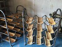 Wine racks for kitchen or cellar