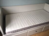 Ikea never used single bed mattress