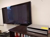 Pioneer 50 Inch TV with Media Receiver