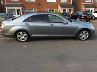 2007 Mercedes S Class for Sale in Excellent condition, S320L Diesel, Grey, huge Spec £7700 ono