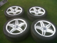 18 inch alloy wheels & tyres