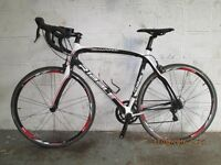 RIBBLE Gran Fondo Carbon Fiber racing bike size Large! ready to ride Bargin £500!!
