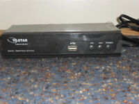 TV Star Digital Receiver PVR can recorded channels with harddrive not included