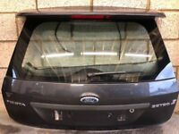 Ford Fiesta ST / Zetec S BOOT TAILGATE Sea Grey with SPOILER (02 - 08) Breaking Spares mk6