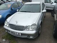 Mercedes C200 CDI SE Excellent Body, needs engine repaired/replaced