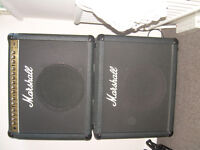 Marshall VS100 amp with additional speaker. Serviced by Marshall . Gigged but immaculate.