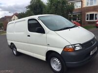 TOYOTA HIACE VANS WANTED - TOP MARKET VALUE PAID