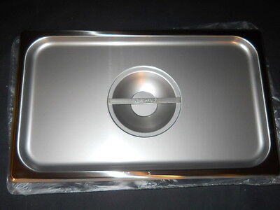 Polar Ware Stainless Steel 16.5 X 10 Solid Cover For Instrument Tray 1650-2