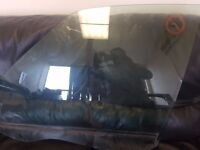 2006-14 FORD GALAXY MK3 FRONT LEFT PASSENGER SIDE DOOR WINDOW GLASS