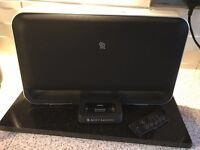 Altec Lansing T612 iPod Dock / Speaker (with Remote) (Olde 30 Pin Style Connection)