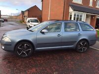 Skoda Octavia 2.0 Tdi PD Laurin&Klement 5dr 57reg diesel manual 6speed limited edition car
