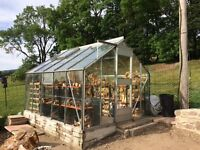 """Eden Greenhouse 10'6"""" x 8'6"""" approx"""