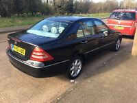 2002 Mercedes Benz C240 12 Months M.O.T Service History Brillant Car to drive no fault what so ever