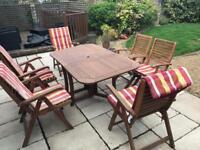 Wooden garden furniture NOW SOLD