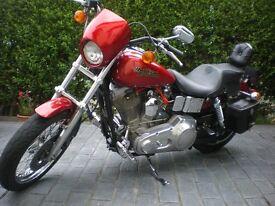 Harley Davidson custom dyna glide 1340 evo