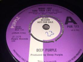 """Deep Purple """"Might just take your life""""-1974- Demo record"""