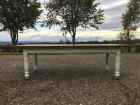 Stunning Victorian Kitchen Refectory Table
