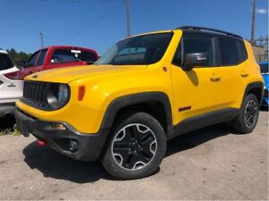 2016 Jeep Renegade Trailhawk NAV 4x4 CAM GREAT COLOUR