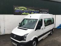 2012 VW CRAFTER MWB MINIBUS 10 SEATER WHEELCHAIR LIFT *FINANCE £199PER MONTH*