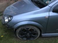 Vauxhall Astra mk5 z163 silver lighting wings