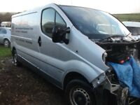 vauxhall vivaro breaking for parts doors lights gearbox