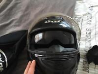 Raptor oxide crash helmet